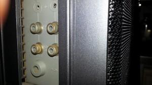 Magnavox D8443 side panel