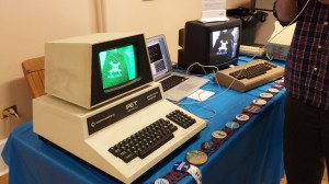 Raspberry Pi feeding image data to a Commodore PET