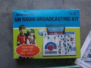 Throwback Thursday – AM Radio Broadcasting Kit – 1977