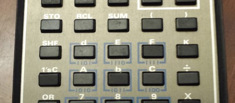 Throwback Thursday – TI Programmer Calculator – 1979