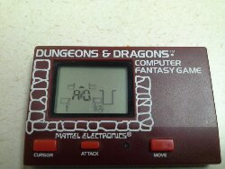 Throwback Thursday – Mattel Dungeons & Dragons Game – 1981